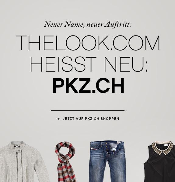 Aus TheLook.com wird PKZ.ch