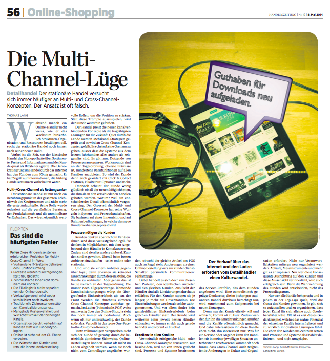 Die Multi-Channel-Lüge