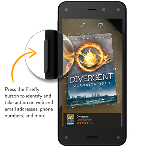 Amazon Fire Phone mit Firefly Funktion