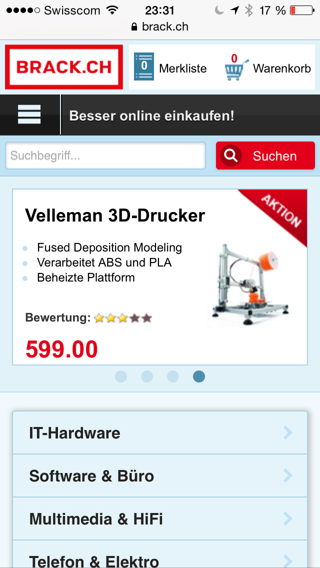 Schweizer E-Commerce Relaunch-Rallye V