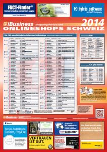Die umsatzstärksten Schweizer Onlineshops 2014