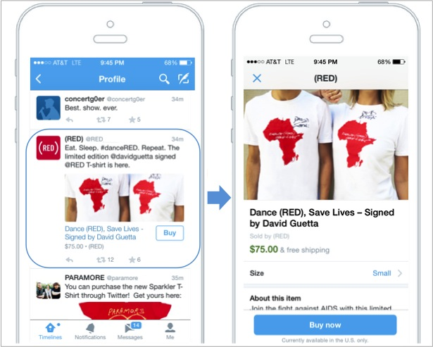 Twitter lanciert den Buy-Button - Bildquelle: Twitter