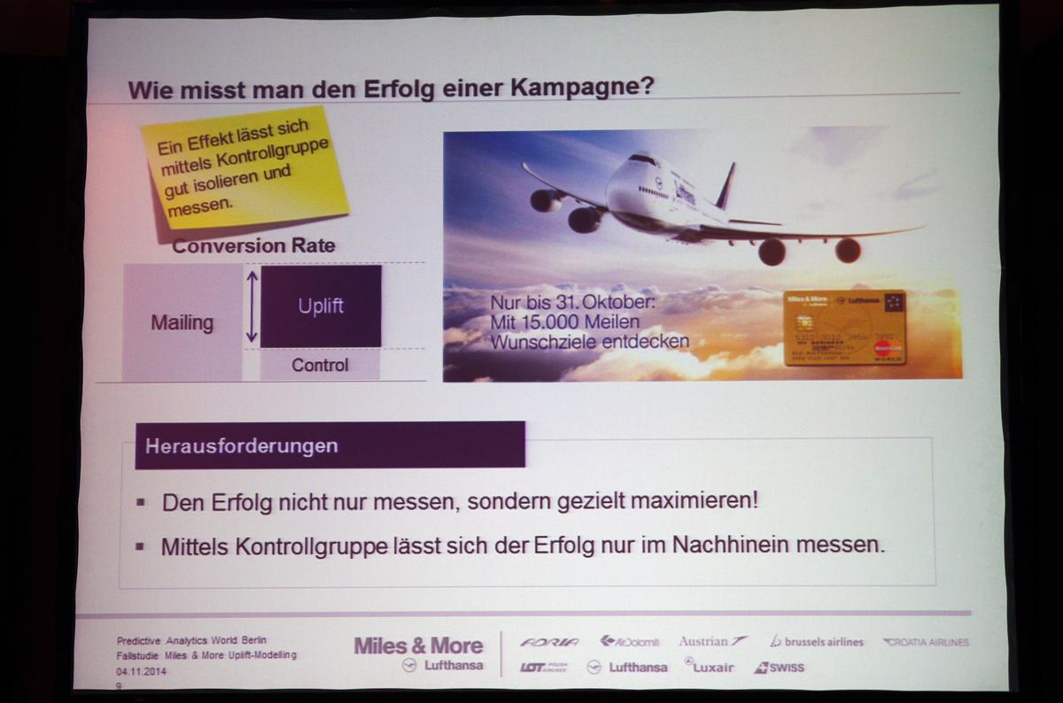 Lufthansa Uplift Modeling