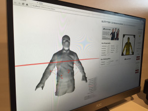 3D-Scan bei Outfittery - Beispiel: Selbstversuch Thomas Lang