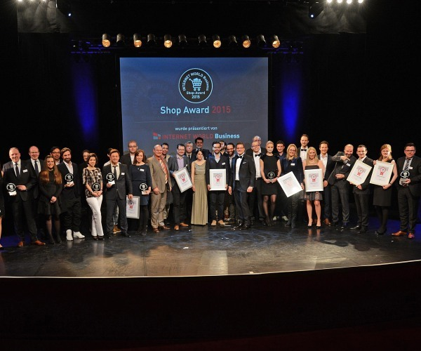 Alle Gewinner des 2015 Internetworld Shop-Awards