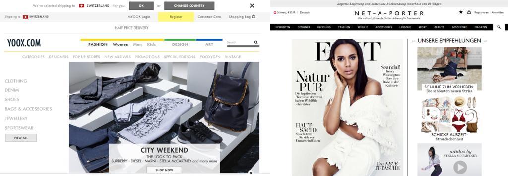 Die fusionierten Fashion-Anbieter Yoox und Net-a-Porter