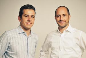 DeinDeal Gründer Adrian Locher und Amir Suissa