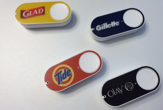 Amazon Dash-Buttons - die schnellste Art, online einzukaufen.
