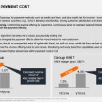 Zalando: Entwicklung der Payment-Kosten - Stand 30.6.2015 - Quelle: Zalando SE