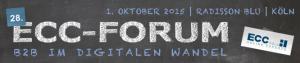 Veranstaltungs-Hinweis: ECC-Forum am 1.10.2015 in Köln mit B2B-Fokus