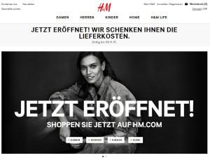 Onlineshop H&M Schweiz