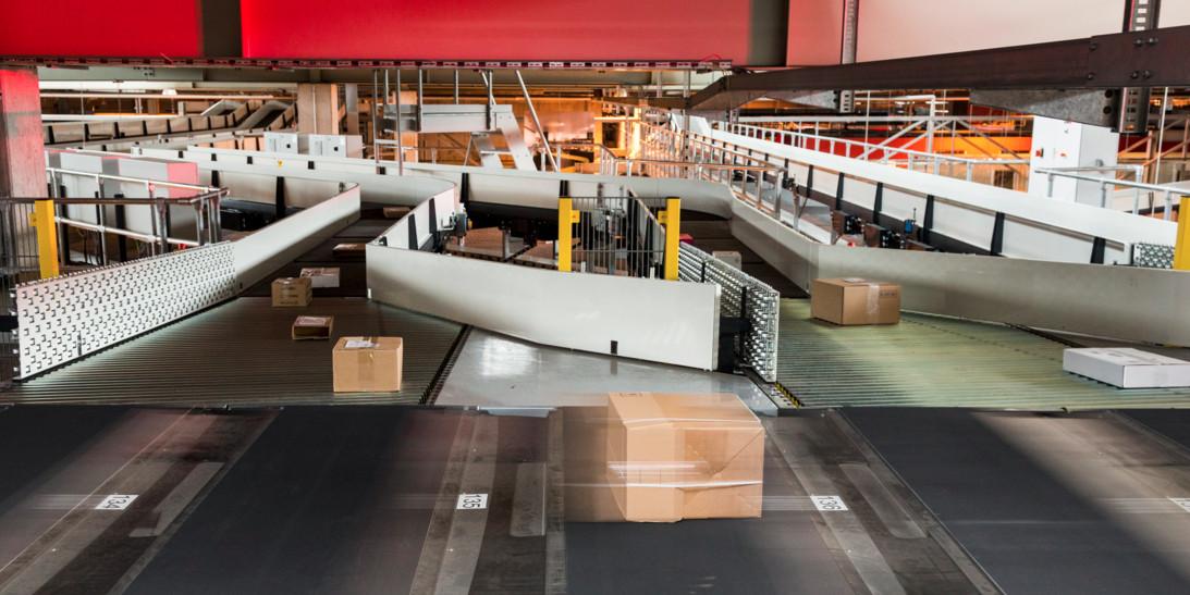 Kapazitätserweiterung im Paketzentrum Frauenfeld - Quelle: Post CH