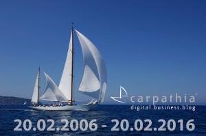 10 Jahre Carpathia Digital Business Blog