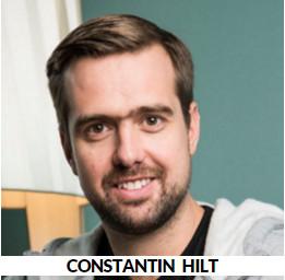 Constantin Hilt, CEO Siroop