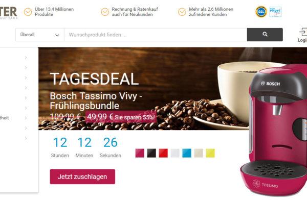 Real schnappt sich das Onlinekaufhaus Hitmeister