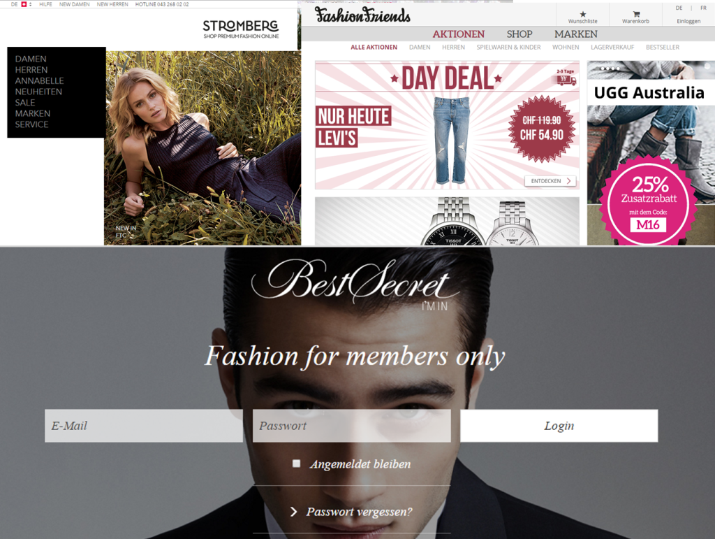Stromberg und FashionFriends gehen an die Betreiber von BestSecret