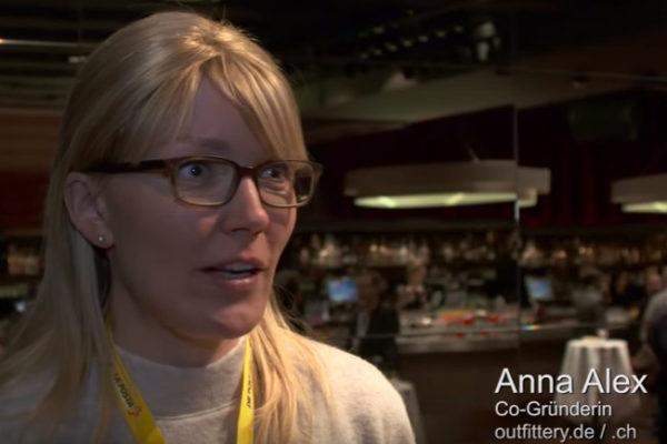 Anna Alex, Co-Gründerin und Geschäftsführerin von Outfittery