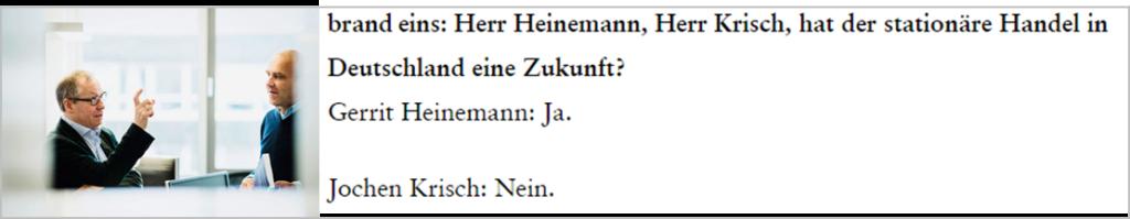 Streigespräch Heinemann Krisch aus der Brand Eins