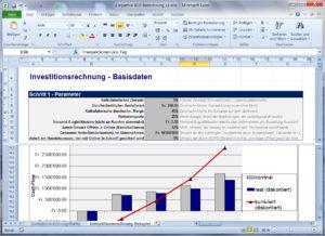 Kostenloser Download Modell-Rechnung Investition Omni-Channel