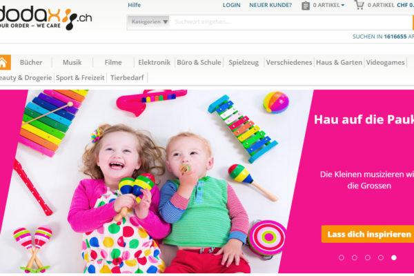 Marktplatz-Inflation in der Schweiz: Nun ein Versuch von Dodax