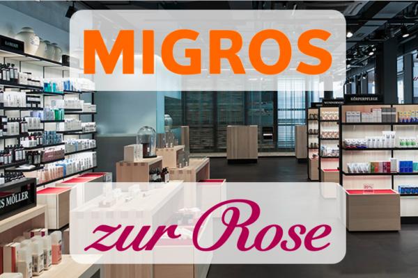 Migros und Online-Apotheke zur Rose spannen zusammen