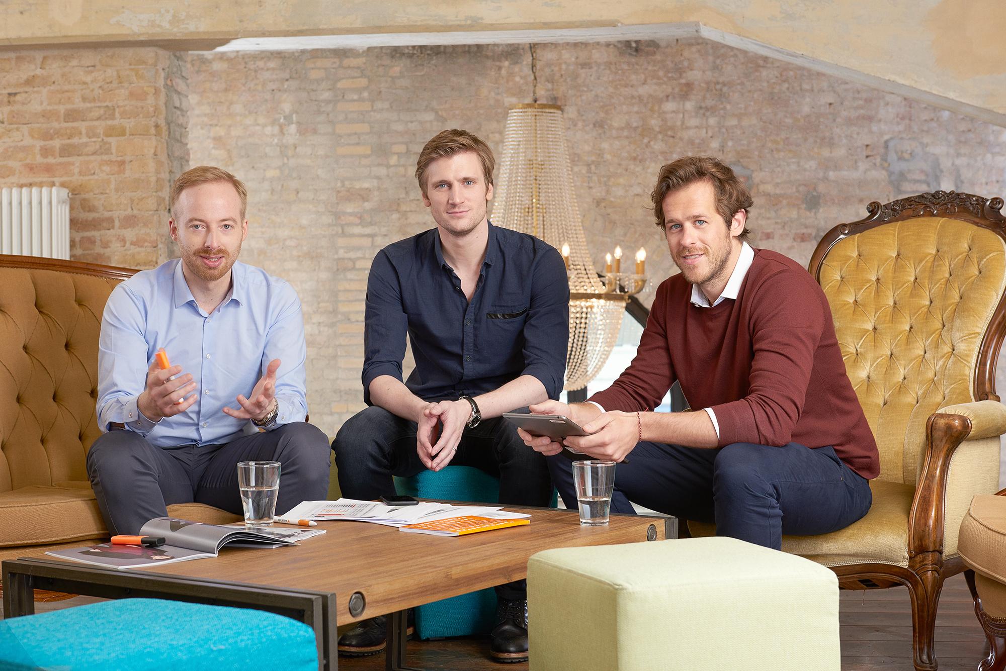 Zalando Vorstand (Rubin Ritter, Robert Gentz & David Schneider) - Bild: Zalando