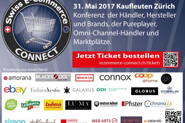 Wenn über 25 CEOs ihre Erfahrungen im Digitalen Wandel im Handel teilen: E-Commerce Connect Konferenz 2017
