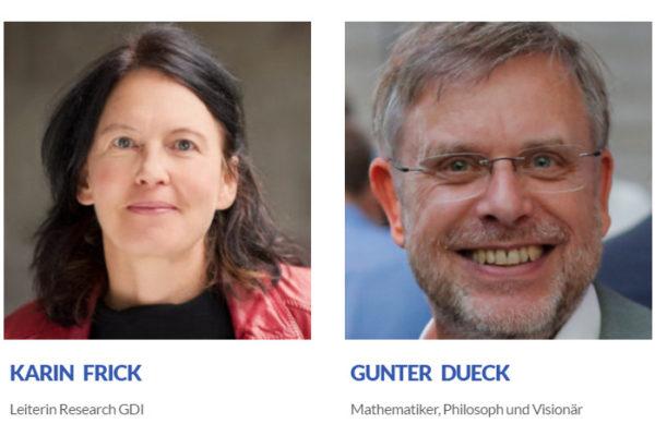 Karin Frick und Gunter Dueck: Top-Keynote-Speaker an der E-Commerce Connect