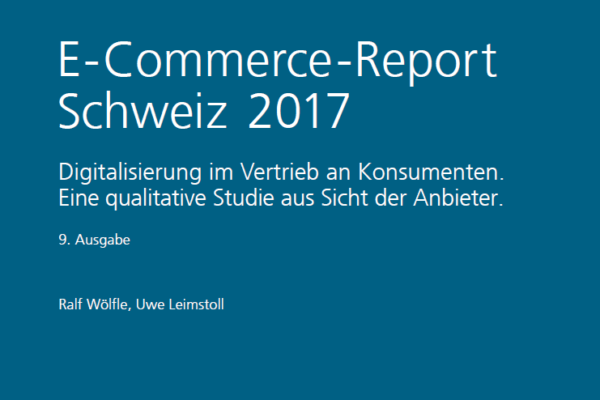 E-Commerce-Report 2017 – Digitale Transformation im Übernachtungsgewerbe (3/3)