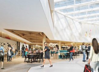 Food Court in der Mall of Switzerland - Bild: mallofswitzerland.ch/de/presse