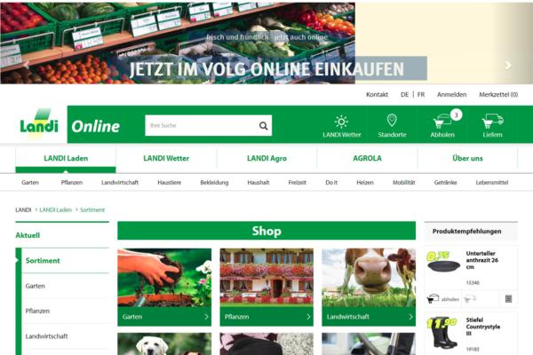 Wie Fenaco mit Volg und Landi den E-Commerce beackert