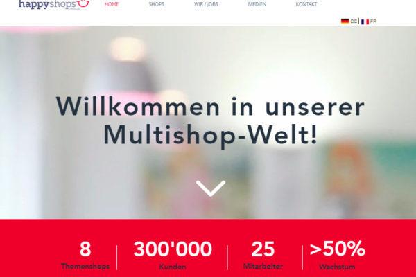 Exit im Schweizer E-Commerce: happyshops Gruppe von privaten Investoren und Management übernommen