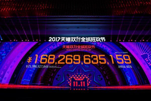 Singles Day 2017: USD 25.4 Milliarden GMV bei Alibaba