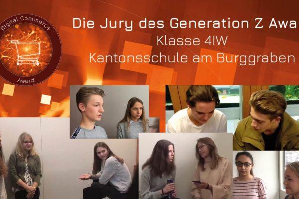 Klasse 4iW der Kantonsschule am Burggraben
