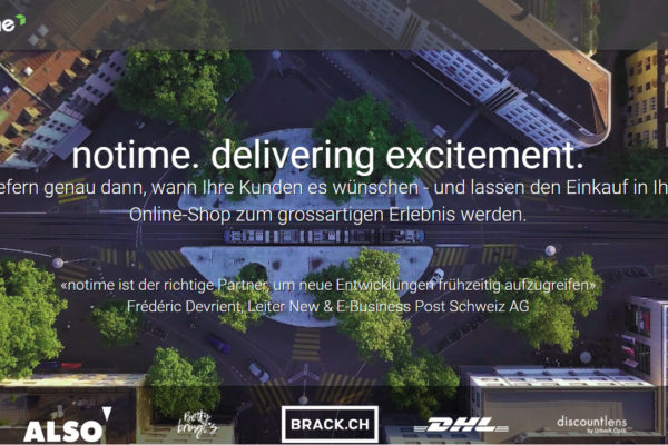 Logistics is Key: Post sichert sich Mehrheit an Startup NoTime