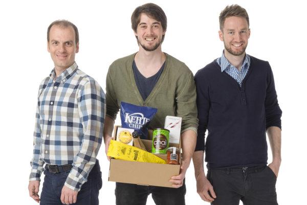 Gründerteam von Ziano: Roland Brack, Andreas Husi und Claudio Zimmerli