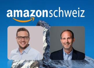Amazon Schweiz CO-CEOs Markus Mahler und Malte Polzin