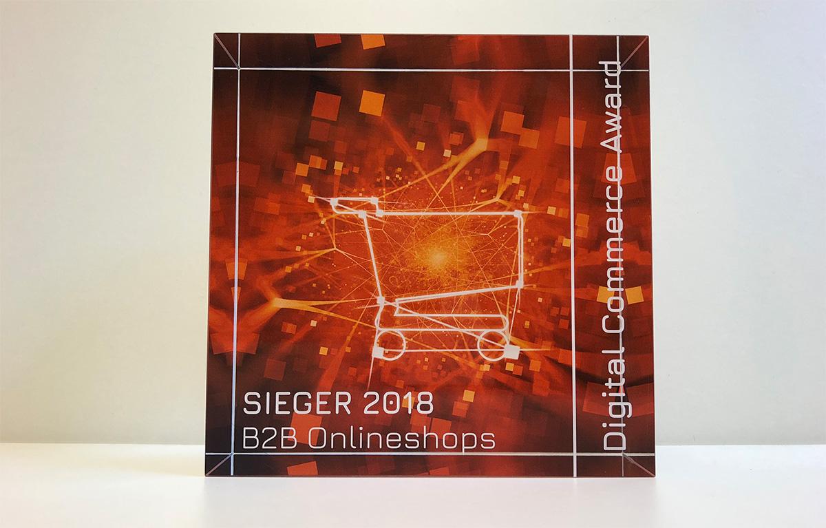 Die neuen Trophäen der Digital Commerce Awards