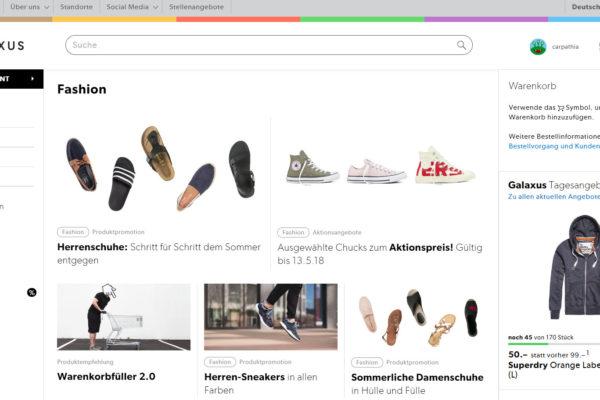 Galaxus will sich Marktanteile an Online-Fashion sichern