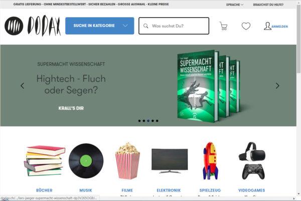 Onlinehändler Dodax muss in Nachlassstundung