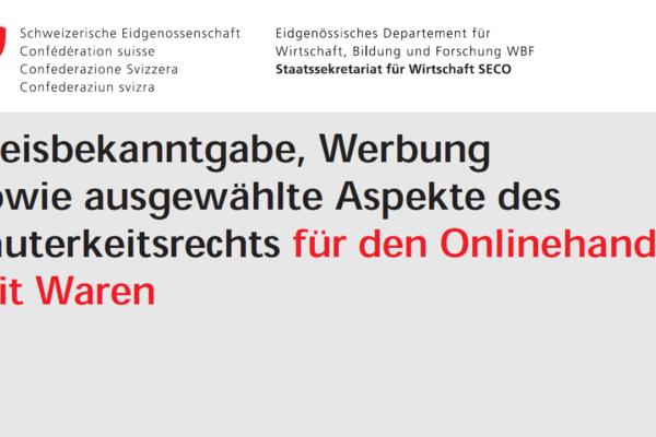 Preisbekanntgabeverordnung – Erweiterung für E-Commerce
