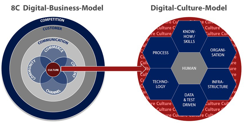 Das Carpathia 8C Digital Business Model führt nahtlos in das Digital Culture Model