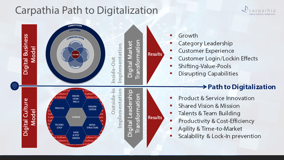Carpathia Path to Digitalization - erfolgreiche Digital Market und Digital Leadership Transformation
