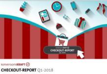 Preview: Infografik E-Commerce Checkout-Report Q1-2018 von Konversionskraft