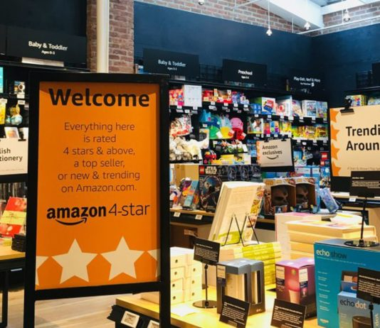Amazon 4-Star Ladenkonzept, SoHo NYC