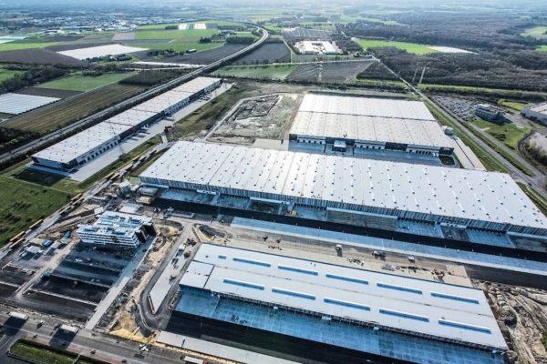Galaxus Deutschland Logistikstandort Krefeld, NRW - Quelle: Digitec Galaxus AG