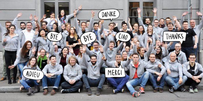 Das Siroop-Team sagt Good-Bye - Quelle: Siroop.ch