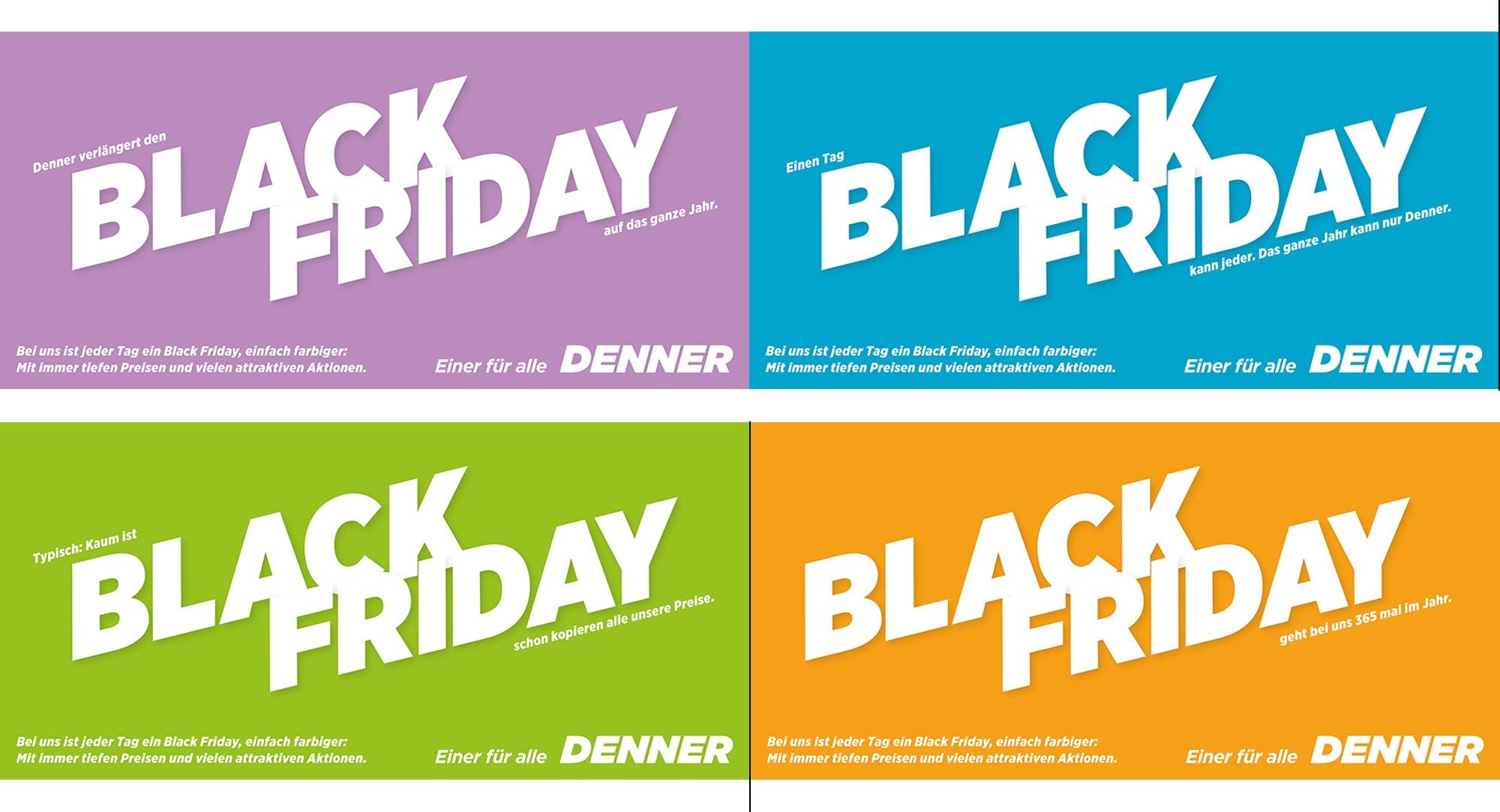 Black Friday - bei Denner das ganze Jahr