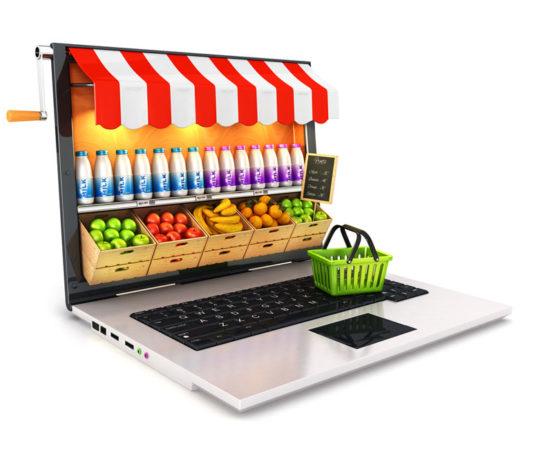 Online-Lebensmittel sind in der Regel frischer als im Laden.
