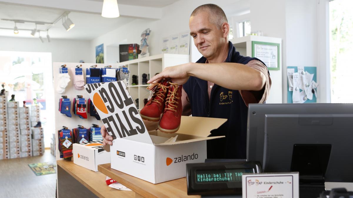 Stationäre Händler verschicken Ware für Zalando-Kunden - Connected Retail - Quelle: Zalando